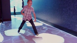 Interactive Floor Game
